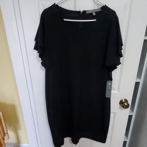 **3/$30 Daisy Fuentes Basic Black Dress